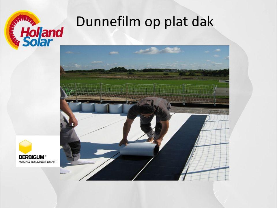 Licht gewicht systeem voor plat dak