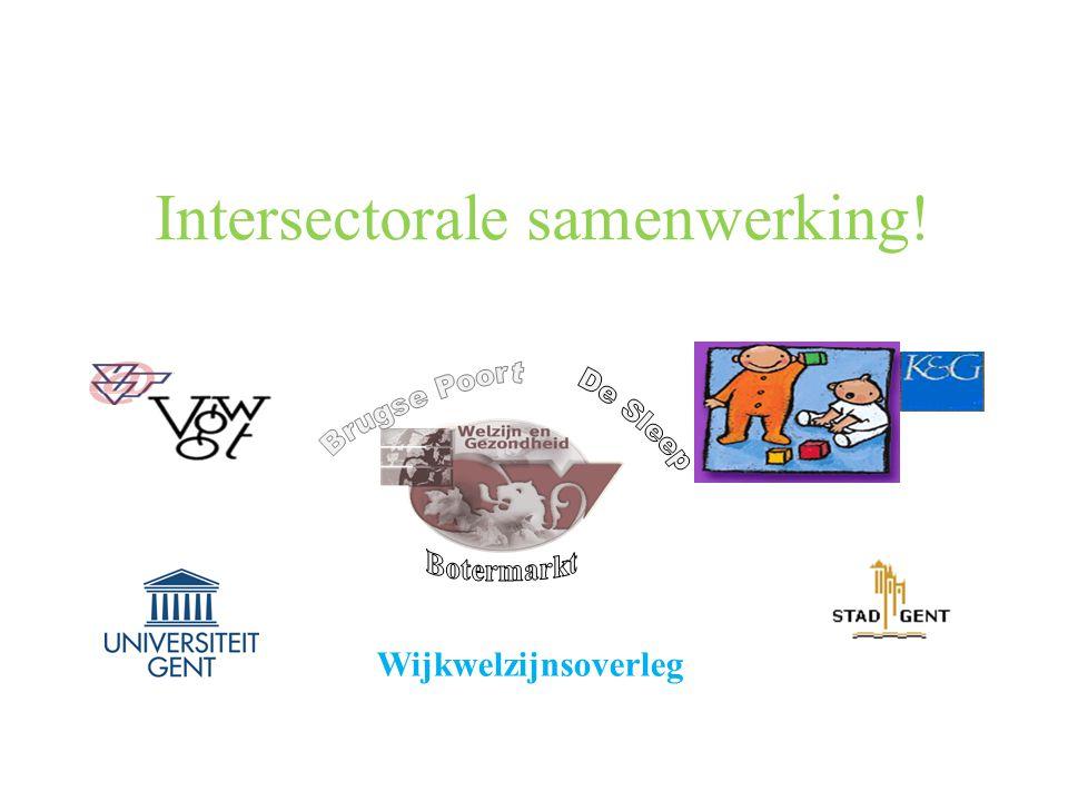 Intersectorale samenwerking! Wijkwelzijnsoverleg