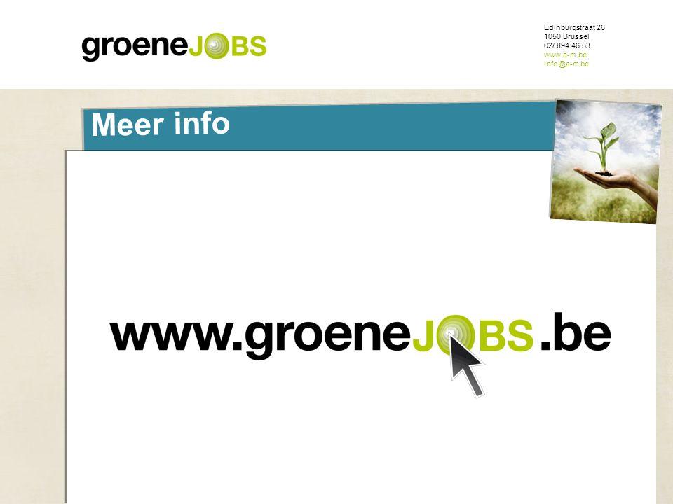 ONDERWERP Edinburgstraat 26 1050 Brussel 02/ 894 46 53 www.a-m.be info@a-m.be Meer info