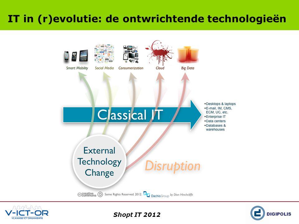 DIGIPOLIS Shopt IT 2012 IT in (r)evolutie: de ontwrichtende technologieën