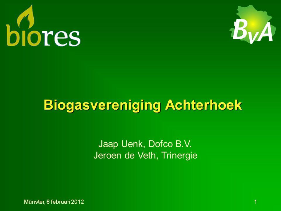Biogasvereniging Achterhoek Jaap Uenk, Dofco B.V.