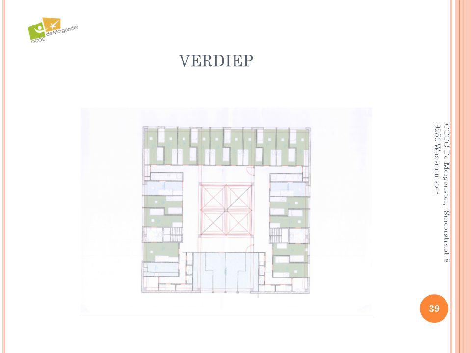 VERDIEP 39 OOOC De Morgenster, Smoorstraat 8 9250 Waasmunster