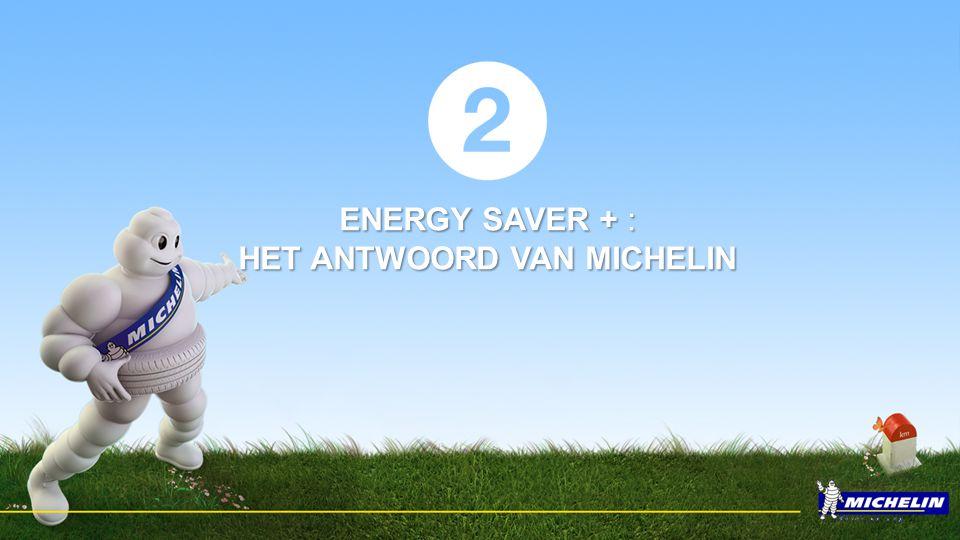 ENERGY SAVER + : HET ANTWOORD VAN MICHELIN