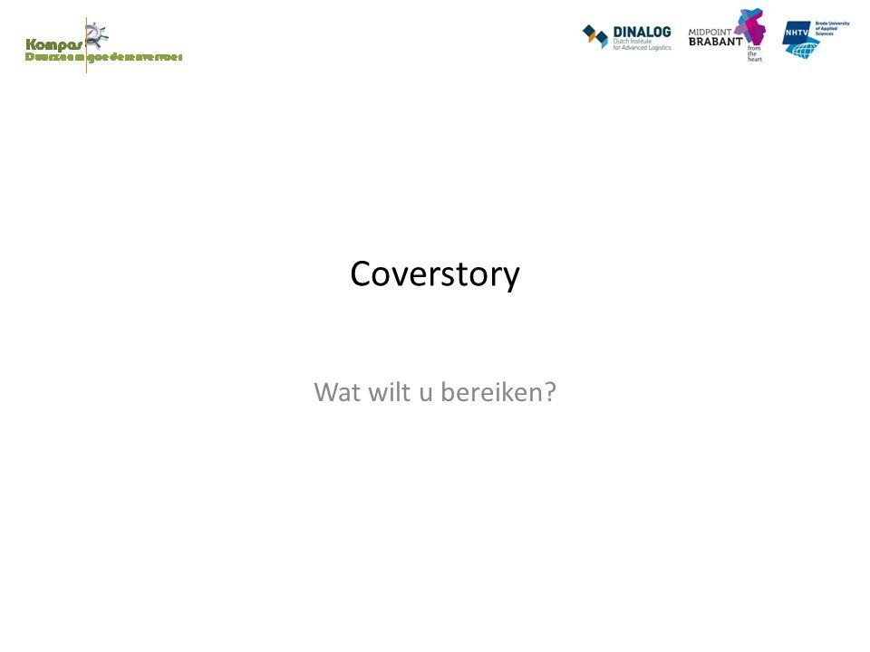 Coverstory Wat wilt u bereiken