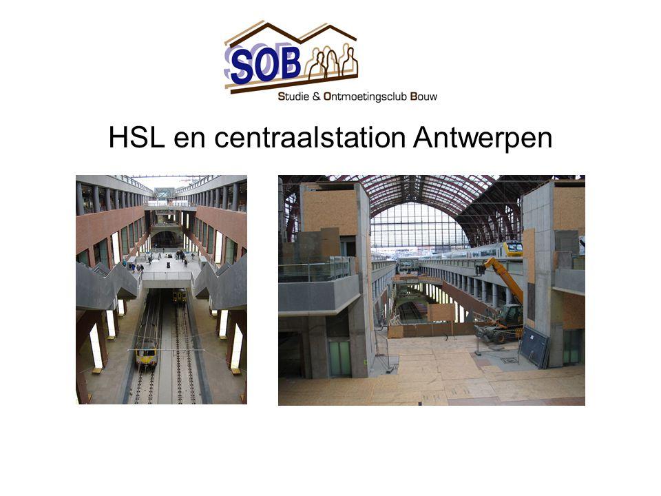 HSL en centraalstation Antwerpen