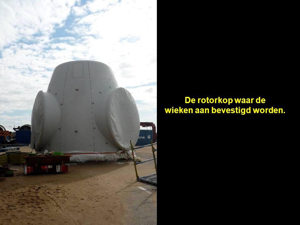Het windenergiepark bestaat uit 60 windturbines met een rotordiameter van 126 meter.