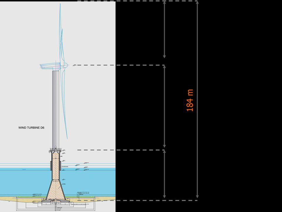 De tweede fase is het plaatsen van de mast.
