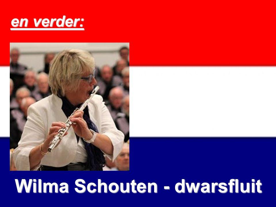 en verder: Wilma Schouten - dwarsfluit