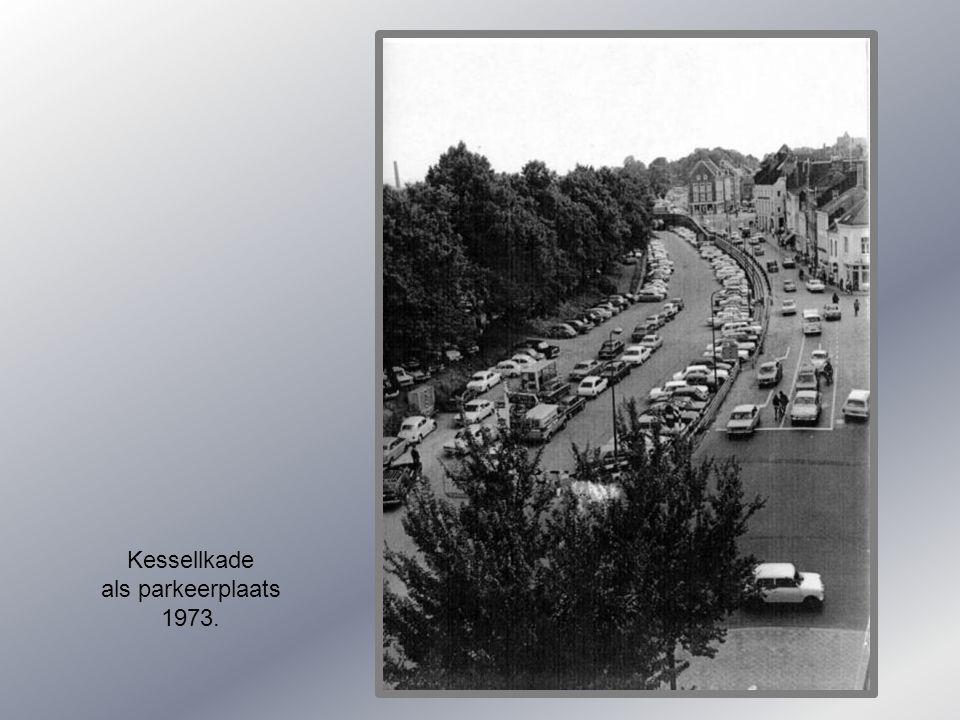 Klok op de Kesselkade 1905.