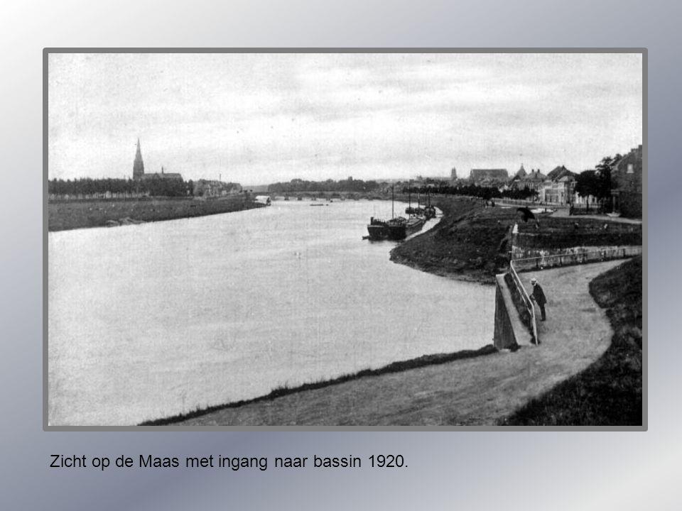 Maaspunttoren 1950.
