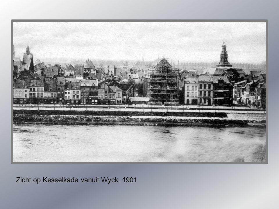 Koestraat. Overstroming 1926.