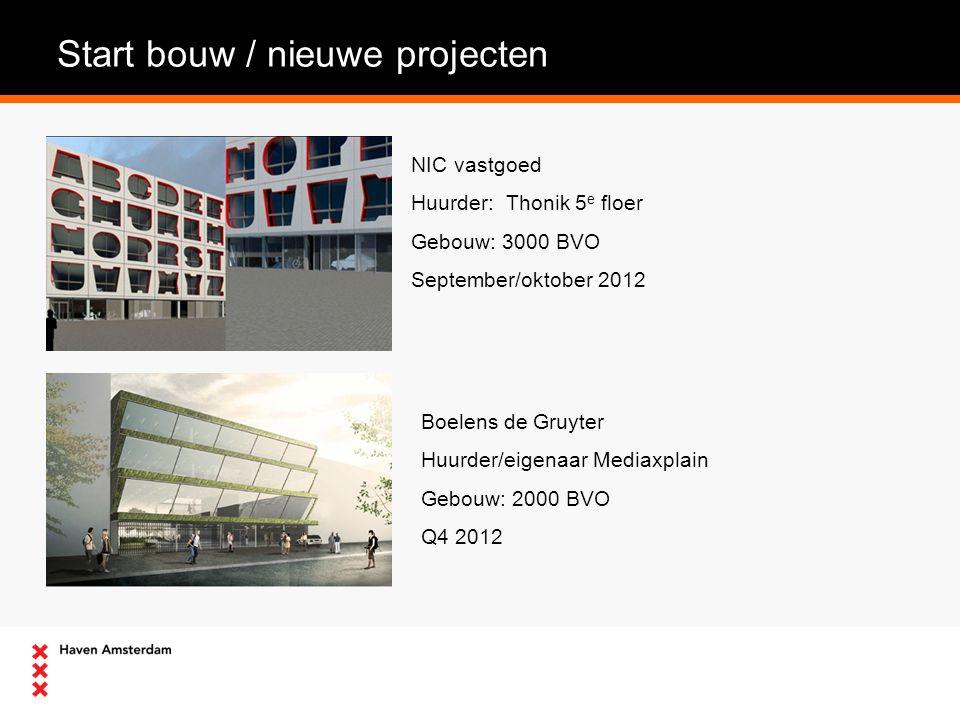 Start bouw / nieuwe projecten G&S Vastgoed ontwikkeld op het voormalige Pont-Meijer terrein 4 gebouwen totaal ca 20.000 m² BVO Start bouw 1 e gebouw Q4 2012 Voormalig Hooglandterrein Ontwikkelaar Heren2 Terrein18.220 m² Gebouw(en) 50.000 m² BVO Start parkeerkelder (600 plaatsen) Q4 2012