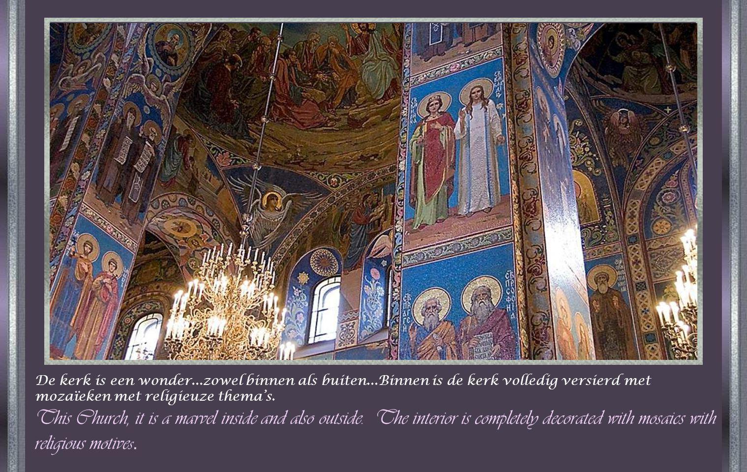De bouw duurde 44 jaar en op 20 mei 1883 – de dag van de kroning van Alexander III – werd de kerk opengesteld voor de eredienst.