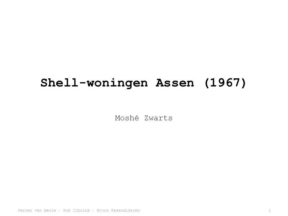Jeroen van Aerle | Rob Ilbrink | Bjorn Kasandikromo2 Shell-woningen, Taxusplantsoen 22-24 Assen