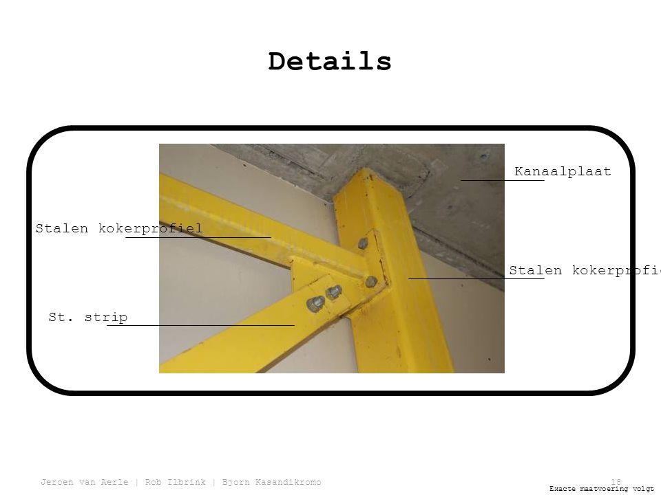 Jeroen van Aerle | Rob Ilbrink | Bjorn Kasandikromo18 Details Stalen kokerprofiel St.