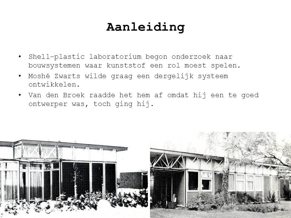 Jeroen van Aerle | Rob Ilbrink | Bjorn Kasandikromo3 Aanleiding •Shell-plastic laboratorium begon onderzoek naar bouwsystemen waar kunststof een rol moest spelen.