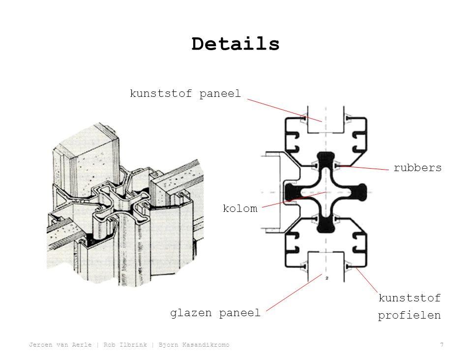 Jeroen van Aerle | Rob Ilbrink | Bjorn Kasandikromo7 Details kunststof paneel glazen paneel kolom rubbers kunststof profielen