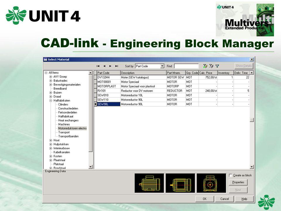 CAD-link - Engineering Block Manager CAD-link - Engineering Block Manager