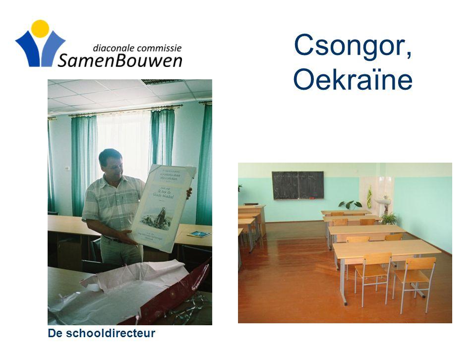 Csongor, Oekraïne De schooldirecteur