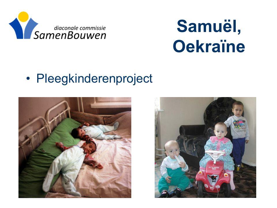 Samuël, Oekraïne •Pleegkinderenproject