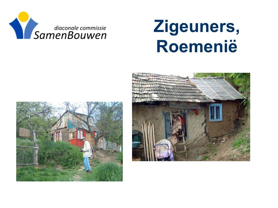 Zigeuners, Roemenië