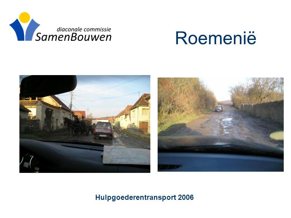 Roemenië Hulpgoederentransport 2006