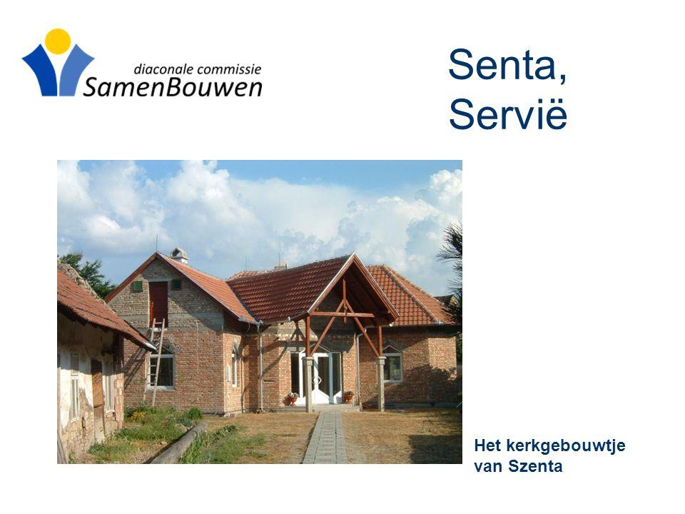 Senta, Servië Het kerkgebouwtje van Szenta