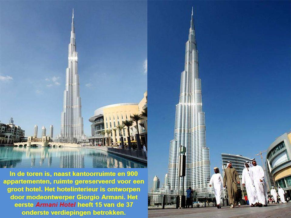 Tijdens de bouw stond de toren bekend onder de naam Burj Dubai (Arabisch: برج دبي, letterlijk: Toren van Dubai), maar enkele uren voor de opening werd