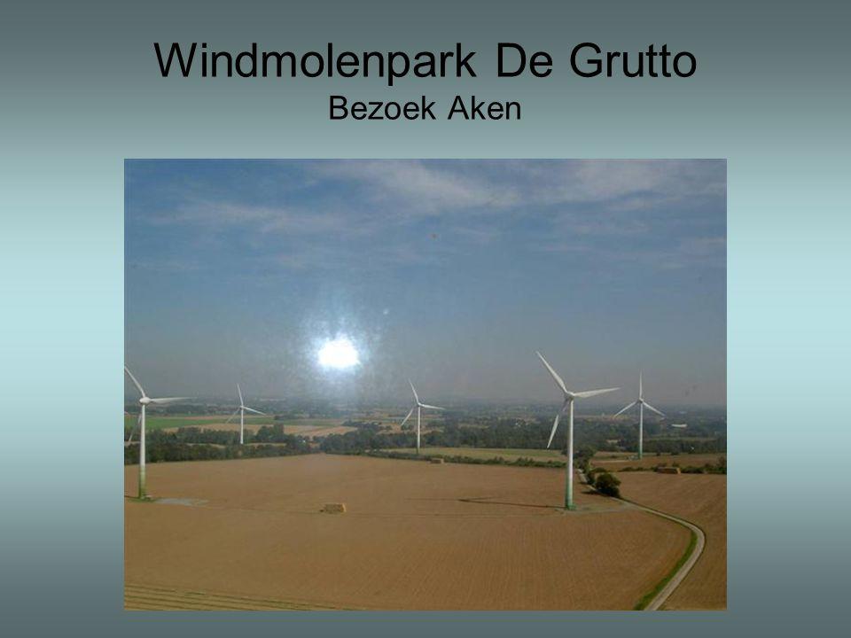 Windmolenpark De Grutto Bezoek Aken