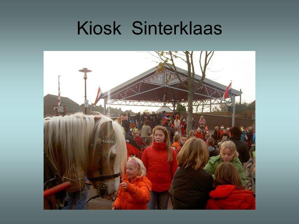 Kiosk Sinterklaas