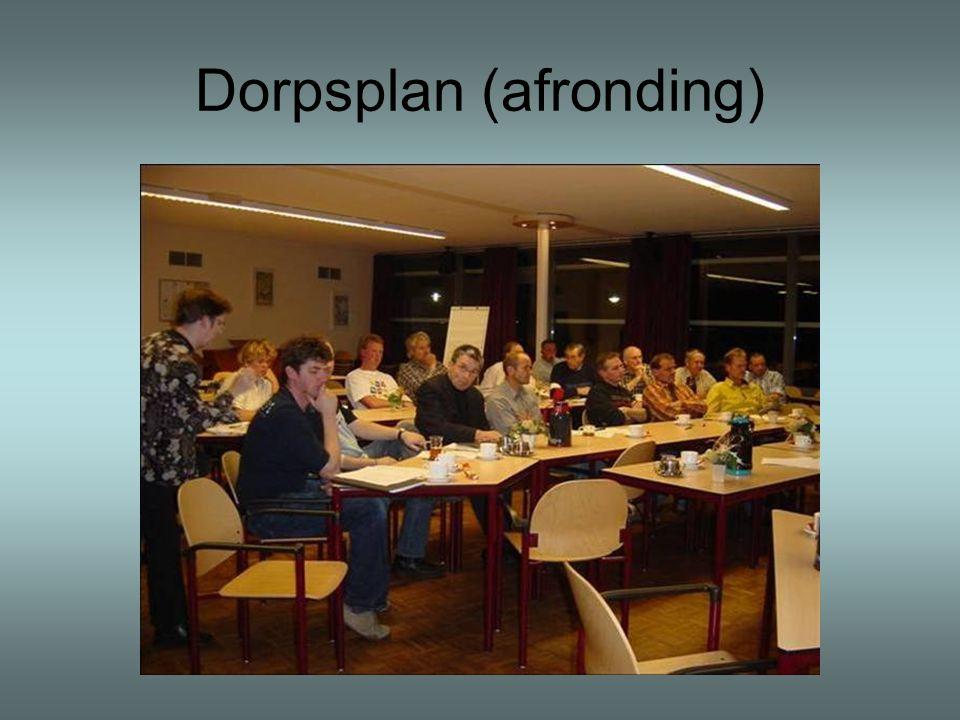 Dorpsplan (afronding)