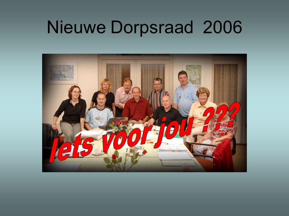 Nieuwe Dorpsraad 2006