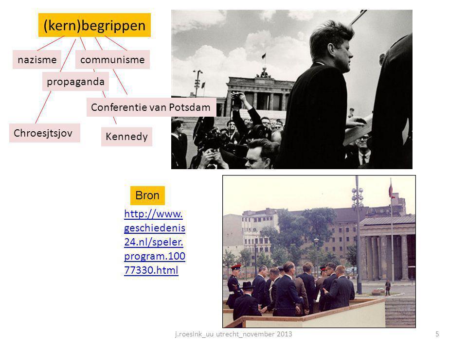 http://www. geschiedenis 24.nl/speler. program.100 77330.html communisme propaganda (kern)begrippen Conferentie van Potsdam nazisme Chroesjtsjov Kenne