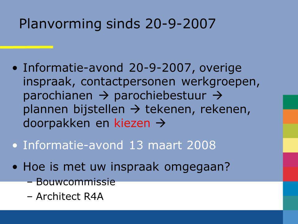 Bouwcommissie Benedictus-en- Bernadettekerk te Rijswijk •Koen Caminada •Sjaak Hauser •Hans Speetjens •Lex Beneken Kolmer •Niek van Dam (tevens lid par