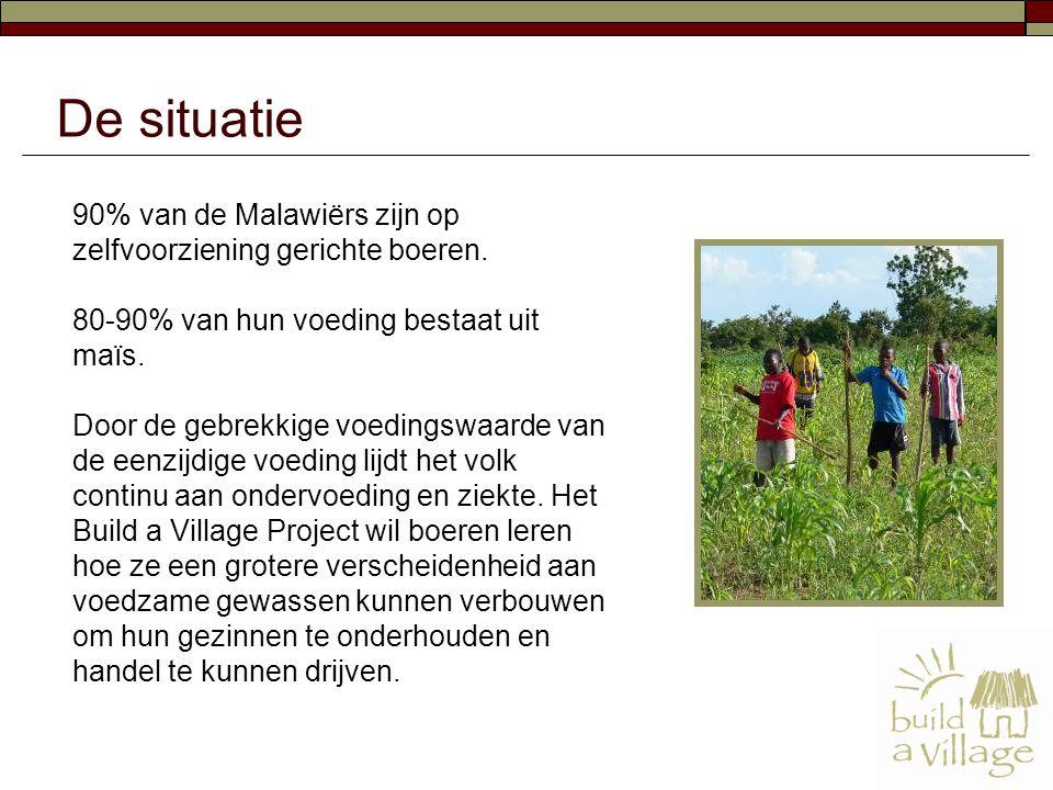 90% van de Malawiërs zijn op zelfvoorziening gerichte boeren.