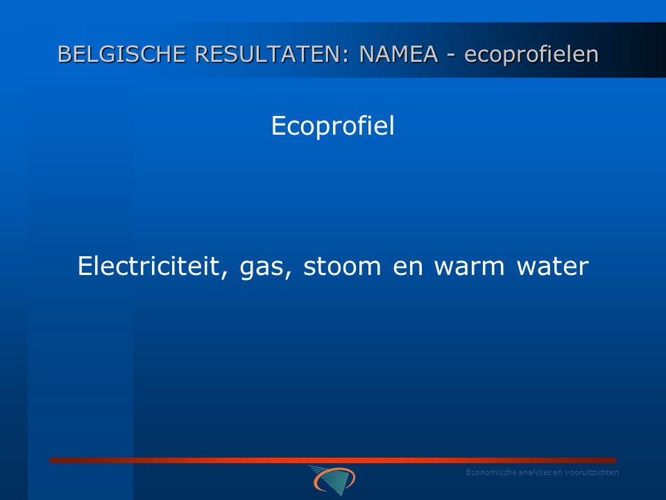 Economische analyses en vooruitzichten Ecoprofiel Metallurgie: Jaarl.
