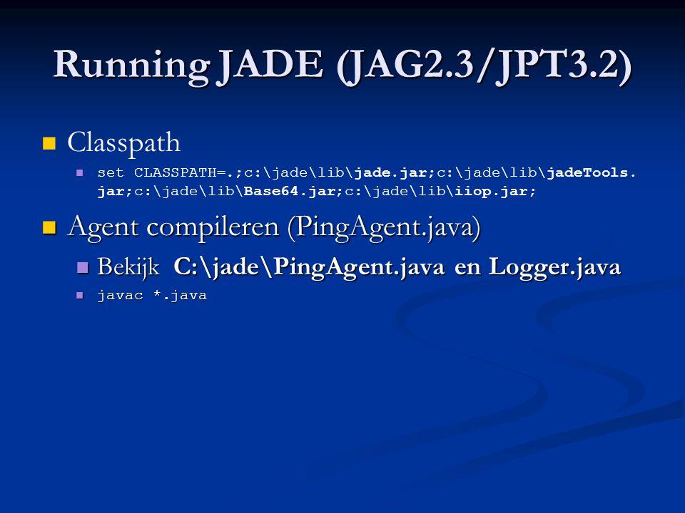 ACL Message Content (PRI7) Content typeGetting contentSetting content StringsgetContent()SetContent() Java ObjectsgetContentObject()SetContentObject() Ontology ObjectsextractContent()fillContent() Tot nu toe… Handig maar geen FIPA; serialiseer.