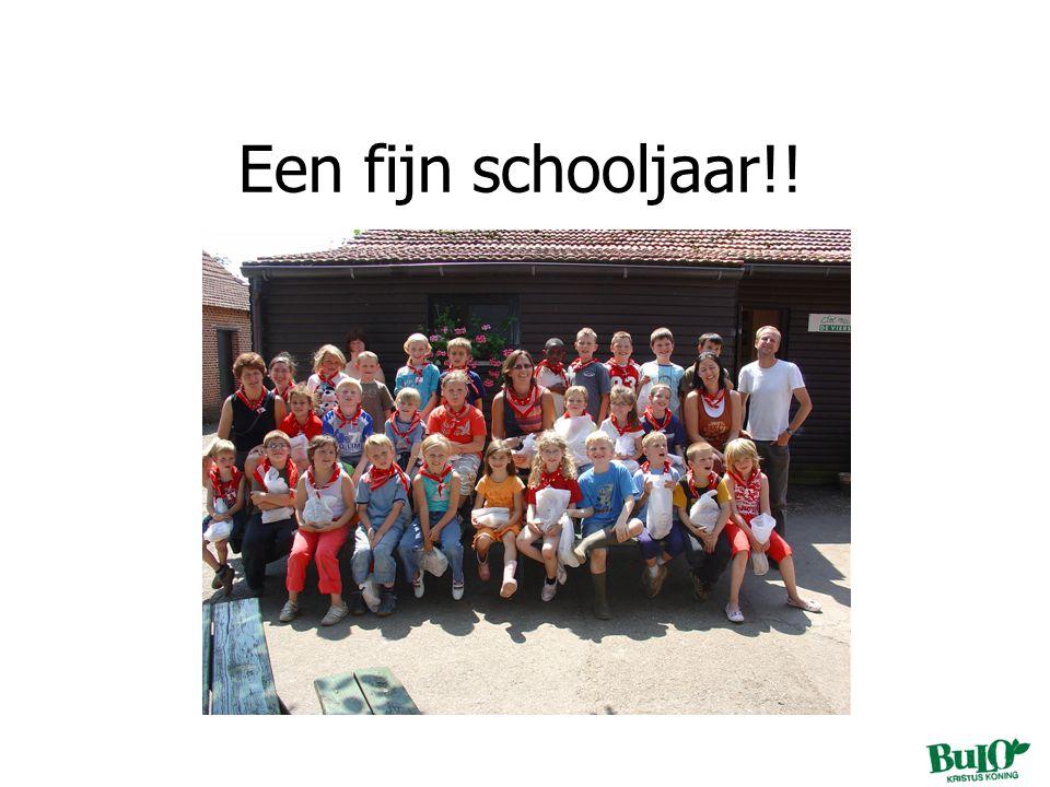 Een fijn schooljaar!!