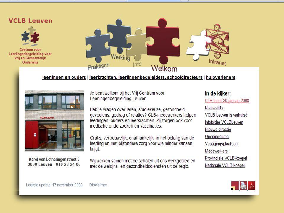 87 in samenspraak CLB-MEDEWERKER LEERLING LEERKRACHT BASISSCHOOL OUDERS SECUNDAIRE SCHOOL Een geslaagd keuzeproces