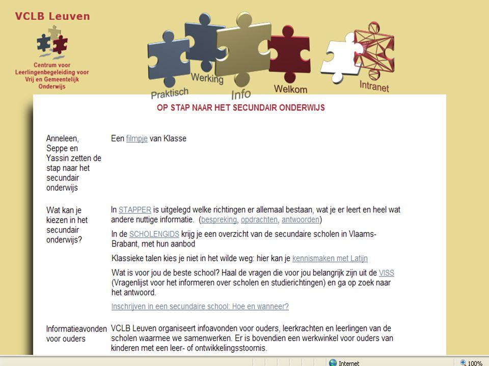 18 Structuur van het secundair onderwijs ASOTSOKSOBSO 4343 2de leerjaar (A) basisopties 2BVL 1ste leerjaar (A) keuzegedeelte 11 B 765765 ASOTSOKSOBSO