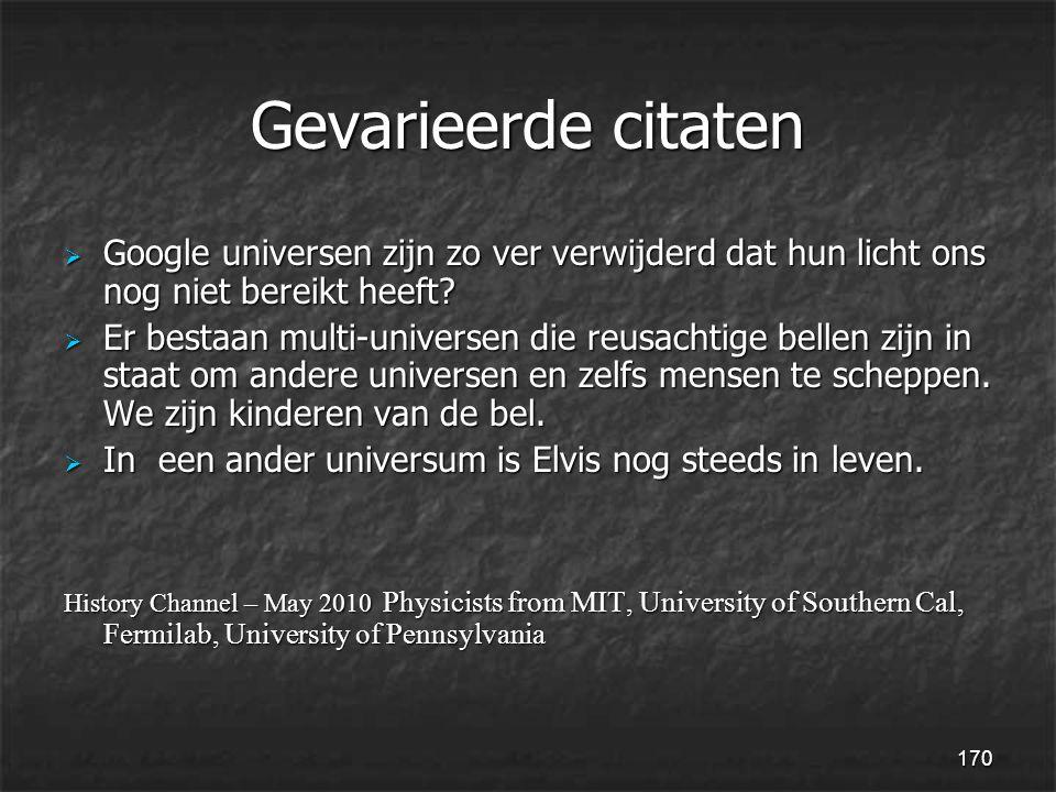 170 Gevarieerde citaten  Google universen zijn zo ver verwijderd dat hun licht ons nog niet bereikt heeft.