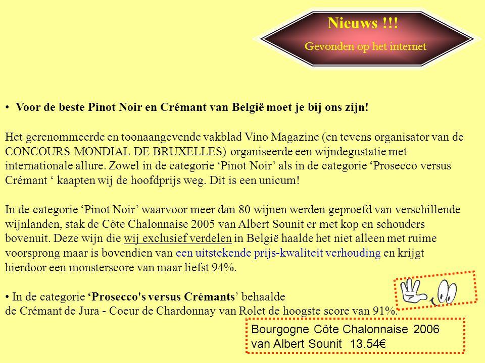 Nieuws !!! • Politie Parijs pakt kieskeurige wijndief Met de aanhouding van een 44-jarige man lijkt de diefstal van wijnen uit de wijnkelder van de be
