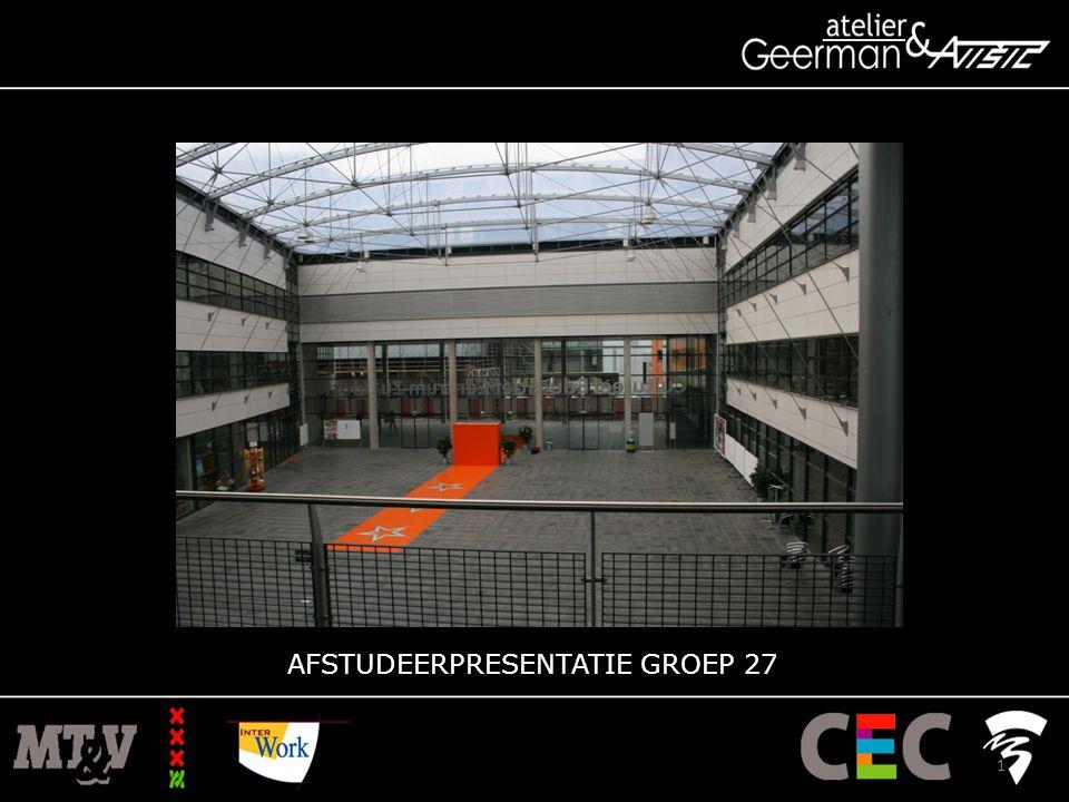  Nagalm (trap, materiaalgebruik, geluidsoverlast woningen)  Logistiek (podium)  Klimaat (dak atrium) Opsomming problemen 12