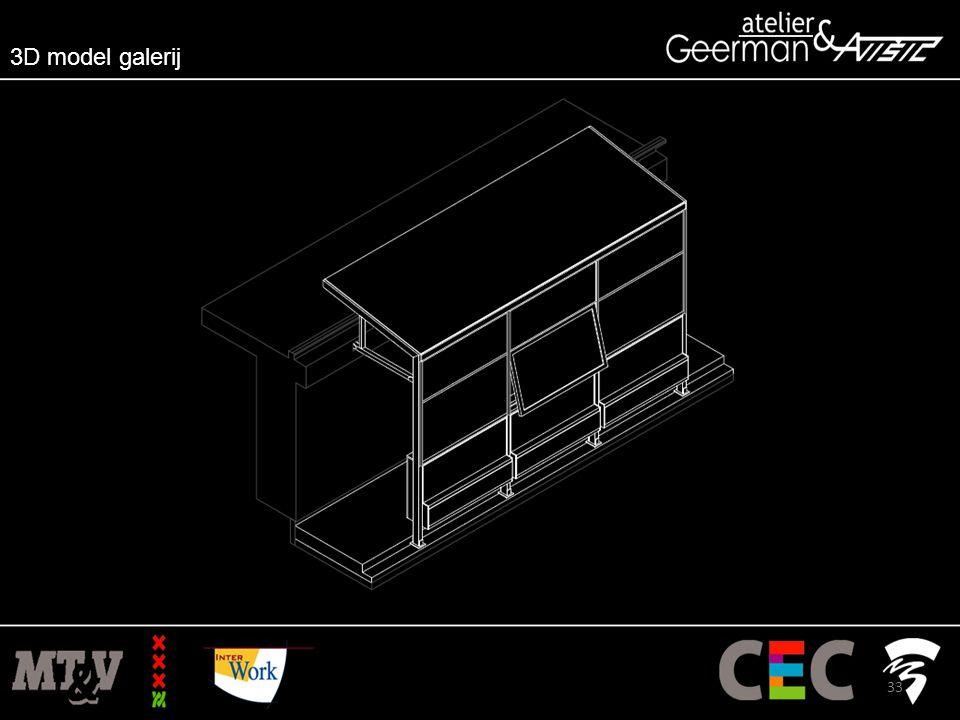 3D model galerij 33