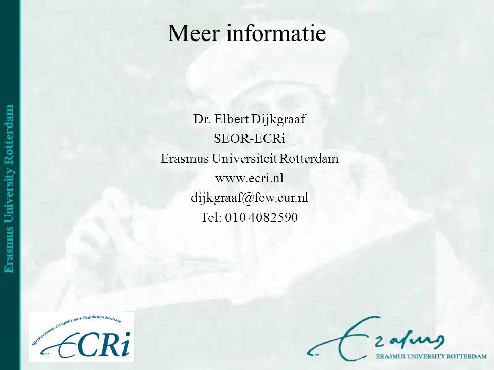 Meer informatie Dr.