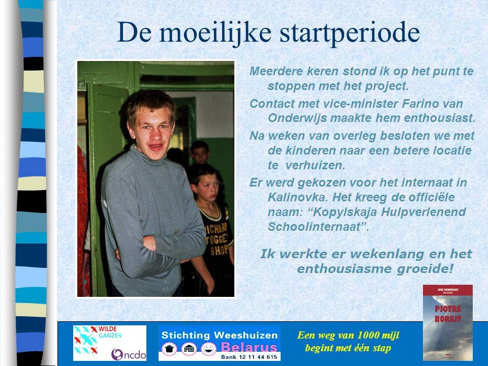 Support Een weg van 1000 mijl begint met één stap Deze jongen uit het weeshuis in Belarus kan nu een krant lezen…hij is trots en gelukkig.
