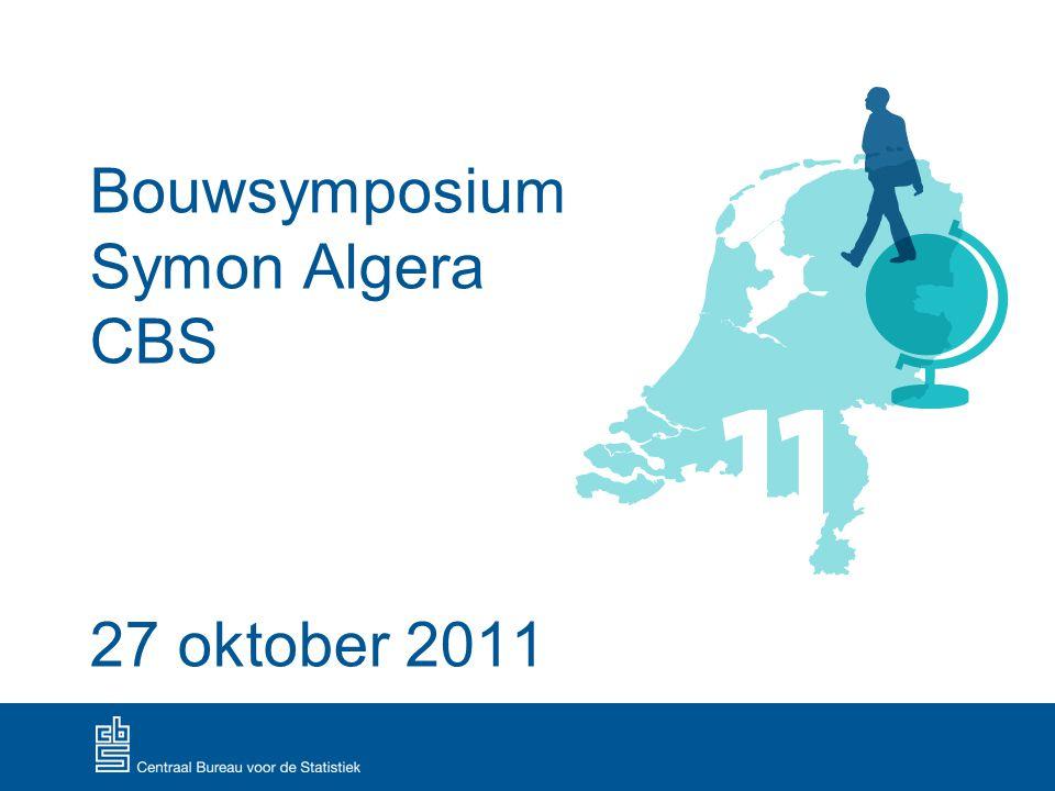 Bouwsymposium Symon Algera CBS 27 oktober 2011