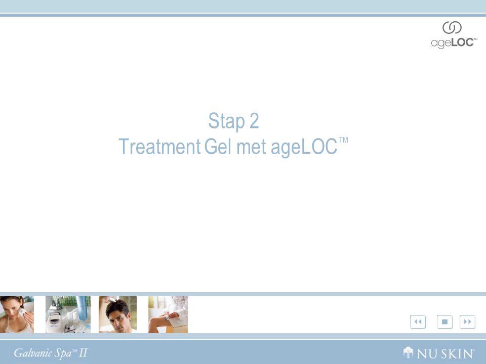 Stap 2 Treatment Gel met ageLOC ™
