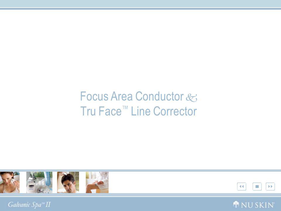 Focus Area Conductor  Tru Face ™ Line Corrector