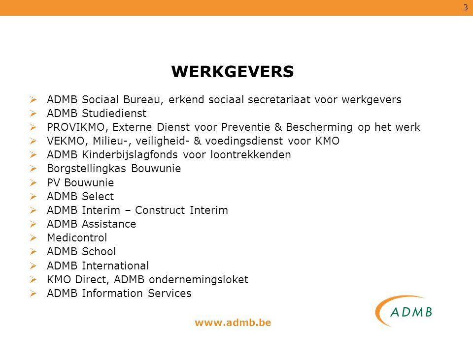 14 ADMB Information Services ICT Resource Consulting U bent op zoek naar de juiste ICT profielen voor uw IT-afdeling en u bent lang niet de enige .